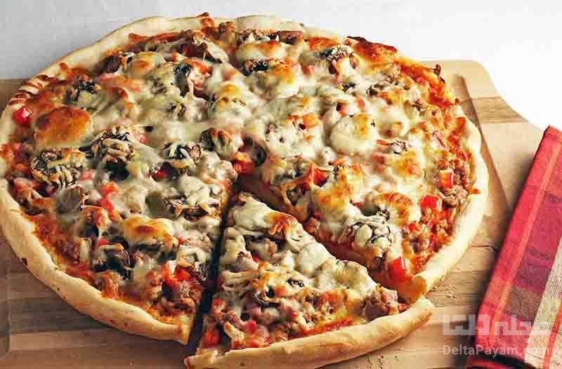پیتزا سوژوناتا مخلوط (ایتالیایی)