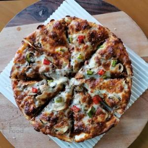 پیتزا گوشت چرخ کرده تک نفره (آمریکایی)