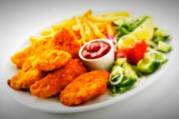 خوراک شنیسل