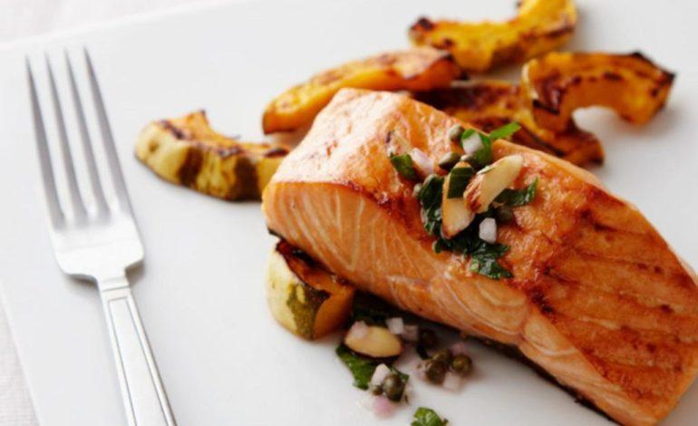 ماهی سالمون تنوری